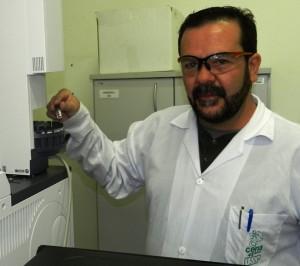 Sergio Monteiro fez sua tese no laboratório de Ecotoxicologia