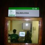 Análise de grãos de pólen e bioindicadores